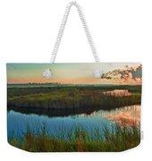 Pink Swamp Sunrise Weekender Tote Bag