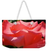 Pink Touch Of Class Petals Weekender Tote Bag