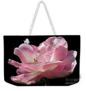 Pink Tulip Isolated Weekender Tote Bag