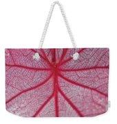 Pink Veins Weekender Tote Bag