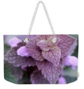 Pink Velvet Weekender Tote Bag
