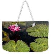 Pink Water Lily I Weekender Tote Bag
