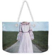 Pink Wedding Dress Weekender Tote Bag