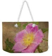 Pink Wild Rose Weekender Tote Bag