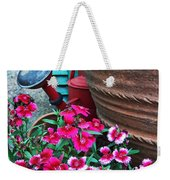 Pinks The Garden Beauty - Dianthus Weekender Tote Bag
