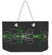 Pinstripes Weekender Tote Bag
