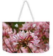 Pinxterflower Azalea Weekender Tote Bag