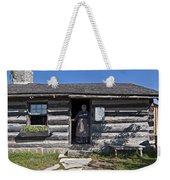 Pioneer Greeting Weekender Tote Bag