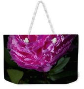 Piony Bloom Weekender Tote Bag
