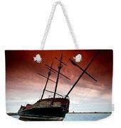 Pirate Ship 2 Weekender Tote Bag by Cale Best