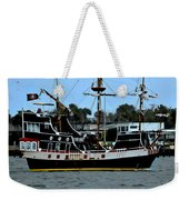 Pirate Ship Of The Matanzas Weekender Tote Bag