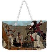 Pirates Of Peril Weekender Tote Bag by DigiArt Diaries by Vicky B Fuller