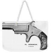 Pistol, 19th Century Weekender Tote Bag