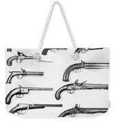 Pistol And Revolvers Weekender Tote Bag