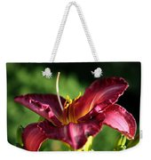 Pistons Of The Pink Yellow Lily Weekender Tote Bag