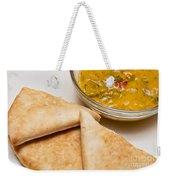 Pita Bread With Brocoli Cheese Dip Weekender Tote Bag