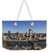 Pittsburgh Panoramic Weekender Tote Bag