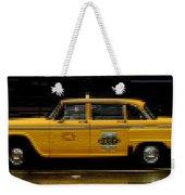 Pixel Taxi Weekender Tote Bag