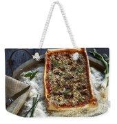 Pizza With Herbs Weekender Tote Bag