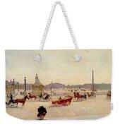 Place De La Concorde - Paris  Weekender Tote Bag