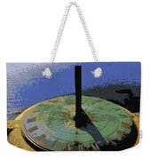 Place Time Dimension Weekender Tote Bag