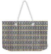 Placemat Weekender Tote Bag