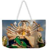 Plai Laem Buddha Weekender Tote Bag