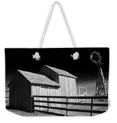 Plains Frontier Farm And Windmill Weekender Tote Bag