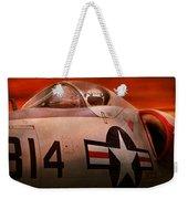 Plane - Pilot - Airforce - Go Get Em Tiger  Weekender Tote Bag