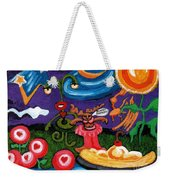 Planet Fantastic Weekender Tote Bag by Genevieve Esson