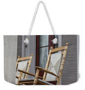 Plantation Rocking Chairs Weekender Tote Bag