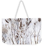 Plants In Winter Weekender Tote Bag