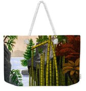 Plants Of The Triassic Period Weekender Tote Bag
