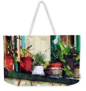 Plants On Porch Weekender Tote Bag
