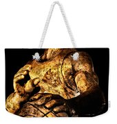 Player In Bronze Weekender Tote Bag by Christopher Holmes