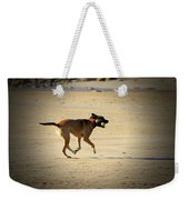 Playing Ball On The Beach  Weekender Tote Bag