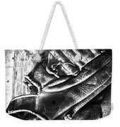 Playing Catch  Weekender Tote Bag by Empty Wall