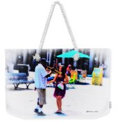 Playing For A Pretty Girl - New Orleans Weekender Tote Bag