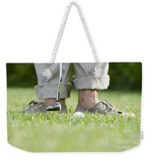 Playing Golf Weekender Tote Bag