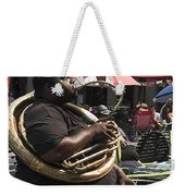 Playing The Tuba _ New Orleans Weekender Tote Bag