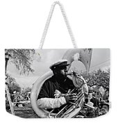 Playing To The Crowd - Bw Weekender Tote Bag
