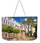 Plaza De La Iglesia In Marbella Weekender Tote Bag
