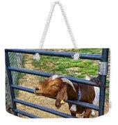 Please Exonerate Me - Billy Goat Weekender Tote Bag