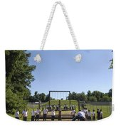 Plebes In The U.s. Naval Academy Class Weekender Tote Bag