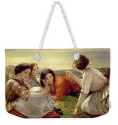 Plotting Mischief Weekender Tote Bag