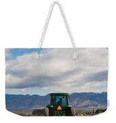 Plowing Field Weekender Tote Bag