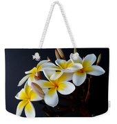Plumeria Bouquet Weekender Tote Bag