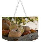 Plump And Purdy Pumpkins Weekender Tote Bag