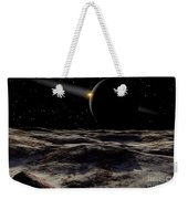 Pluto Seen From The Surface Weekender Tote Bag