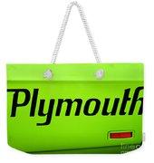 Plymouth Road Runner Weekender Tote Bag